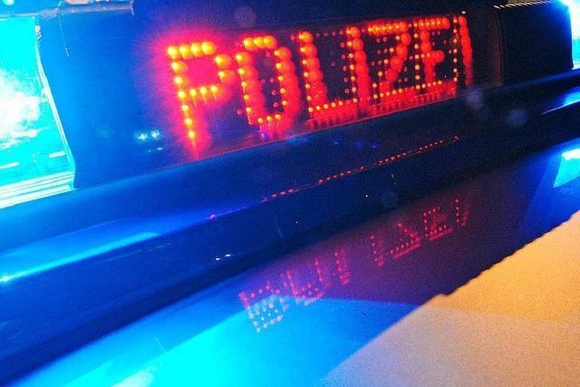 Transporter explodiert in Freiburg-Hochdorf