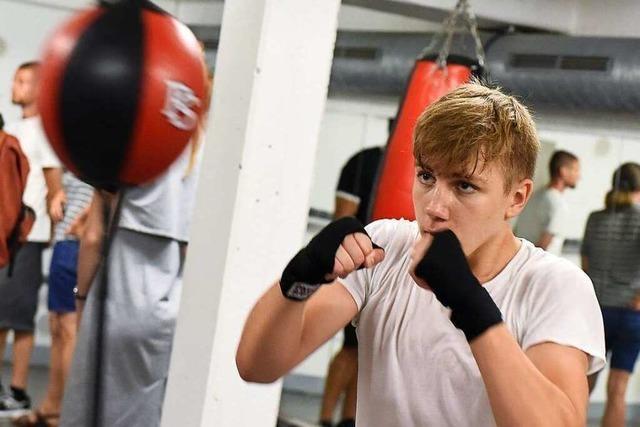 BZ-Leserinnen und -Leser auf Trainingsbesuch bei der Box-Sport-Vereinigung