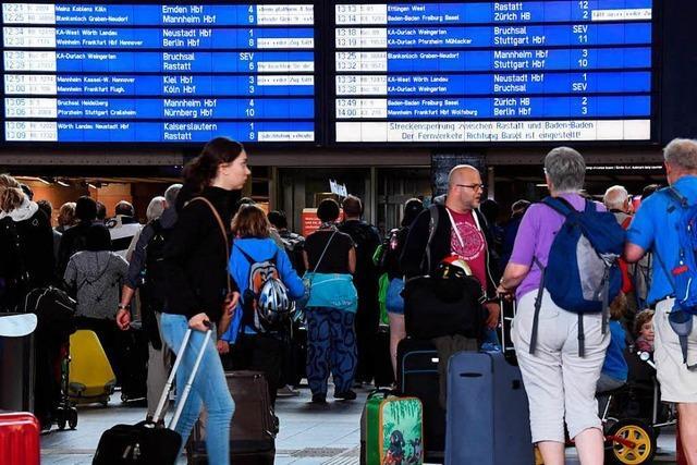 Fahrgastverband kritisiert Krisenmanagement der Bahn