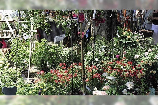 Eintrittskarten fürs Inzlinger Gartenfestival im Wasserschloss