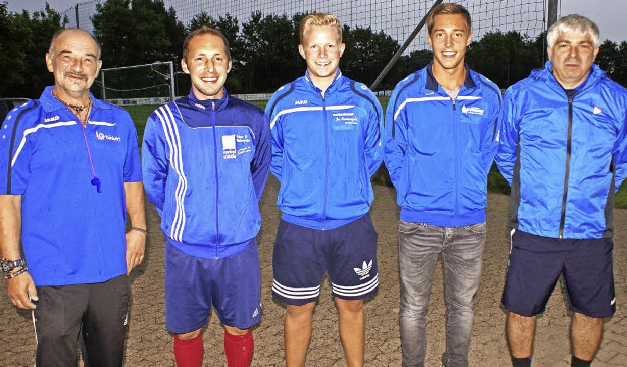 Mit mehreren neuen Spielern geht die e... ersten Mannschaft, Antonio Cutrona.      Foto: Werner Probst