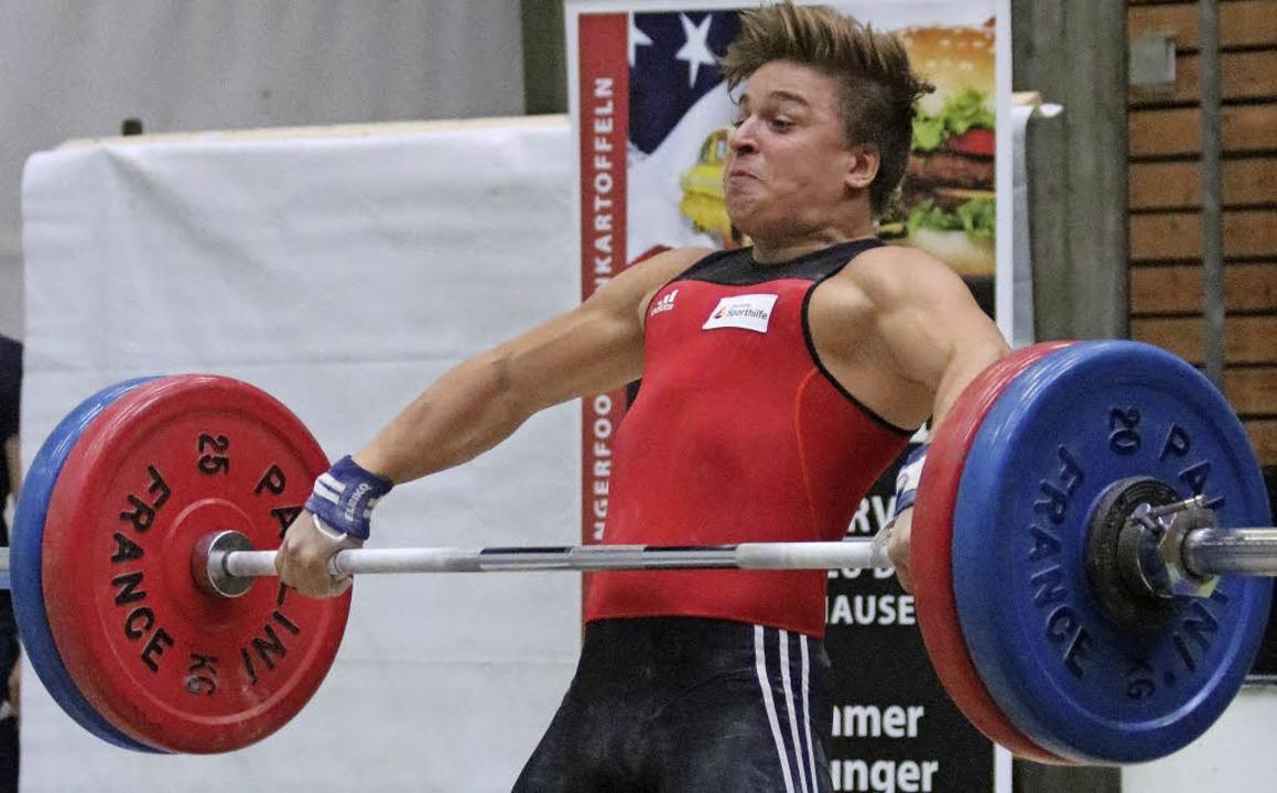 Noch nicht an seiner Leistungsgrenze: Moritz Huber    Foto: ZVG