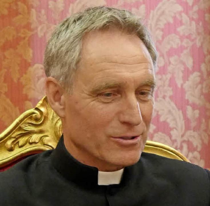 Georg Gänswein  | Foto: Vatikan