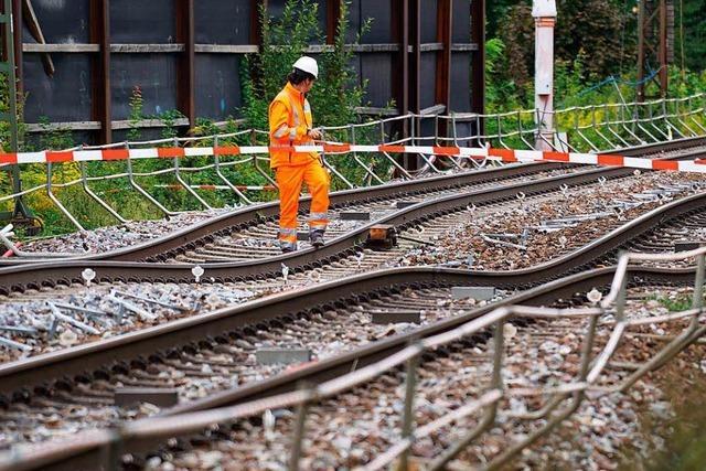 Sperrung der Rheintalstrecke: Auf der A5 wird es eng