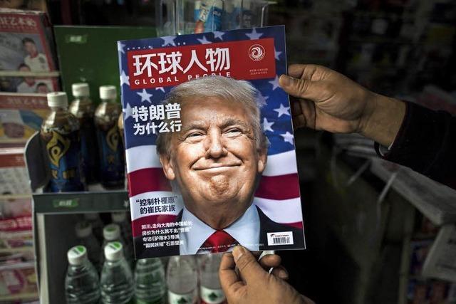 Peking will nicht streiten