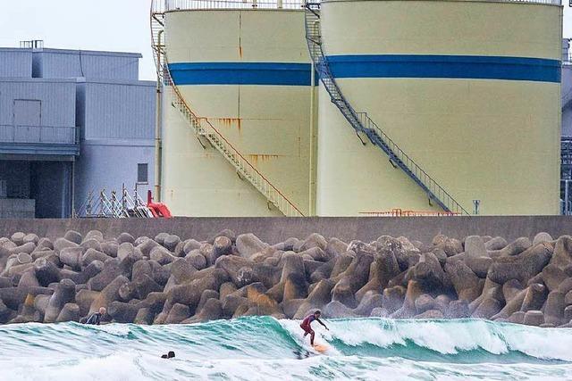 Surfin' Fukushima: Wellenreiten vor dem Atommeiler