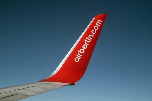 Air Berlin ist pleite, Flugbetrieb soll weitergehen