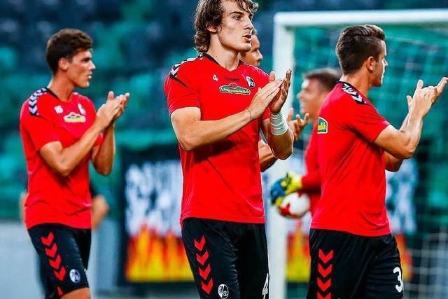 SC Freiburg in der Trikot-Meisterschaft vor den Bayern