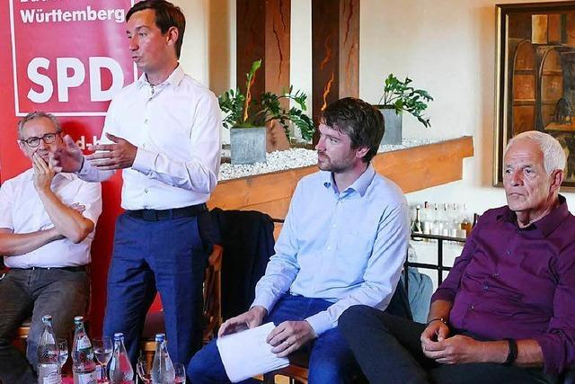 SPD diskutiert in Weil am Rhein über Innere Sicherheit