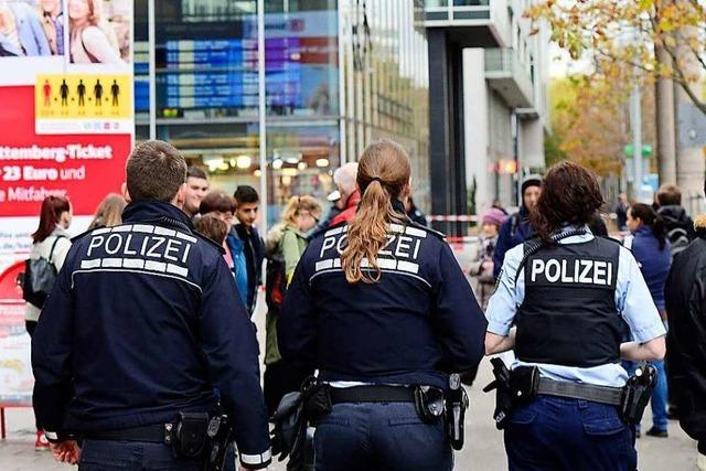 Polizei erwischt am Hauptbahnhof einen flüchtigen Strafgefangenen