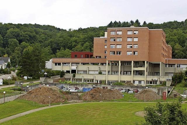 Parkplatzbau am Krankenhaus