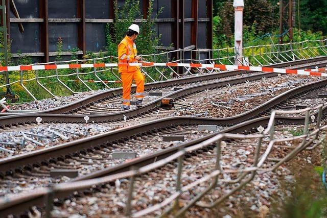 Rastatt: Teure Bohrmaschine wird in Bahntunnel einbetoniert