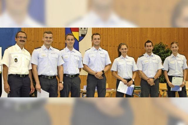 Sechs Preisträger