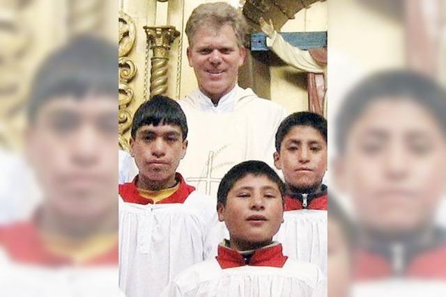 Reinhold Nann in Peru zum Bischof geweiht