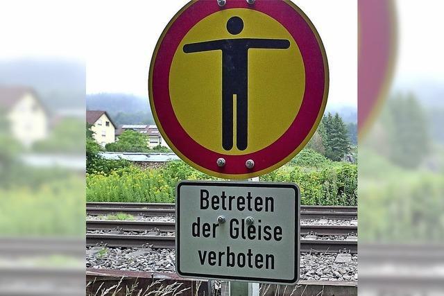 Gefahr für uneinsichtige Fußgänger