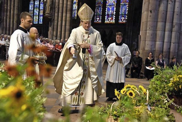 Kräuterweihe zu Mariä Himmelfahrt