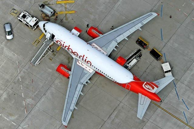 Staat lässt Air Berlin vorläufig fliegen