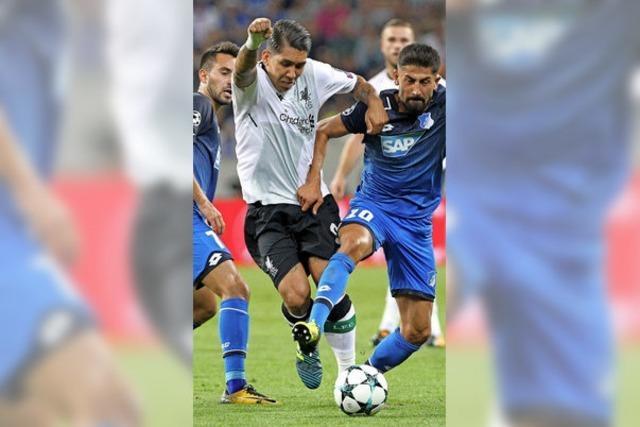 Hoffenheim unterliegt Liverpool mit 1:2 im Hinspiel