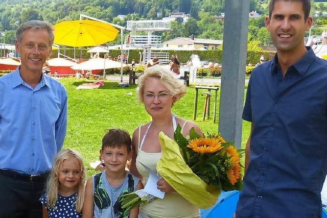 Das Lörracher Freibad hat schon 100.000 Besucher