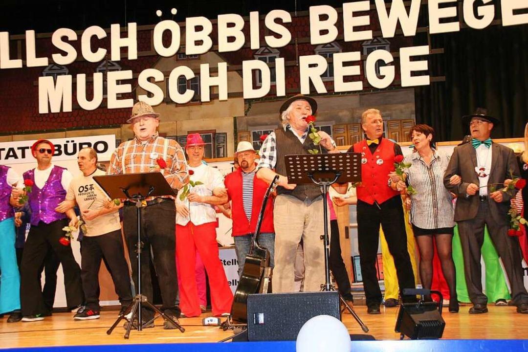 Zunftabend in Schopfheim  | Foto: Marlies Jung-Knoblich