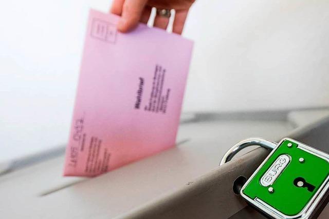 Wahlbenachrichtigungen werden in dieser Woche verschickt