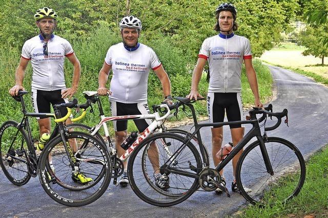 Zur Eröffnung gibt's Radsport