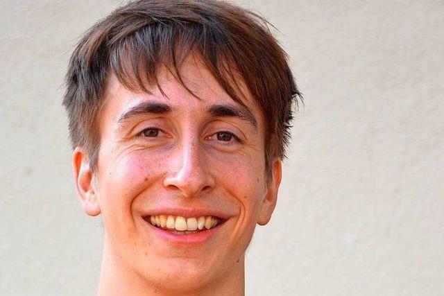David Trunz: Er startet mit Fechtübungen in den Tag und entspannt mit Freunden