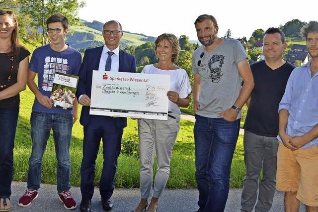 2000 Euro für das Höhentheater