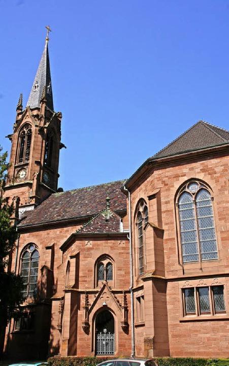 Die evangelische Stadtkirche ist 125 Jahre alt.     Foto: Jung-Knoblich/Privat