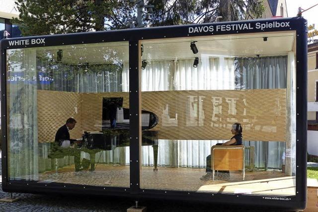 Experimente beim Davos Festival für junge Musiker