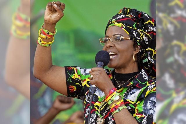 Präsidentengattin soll in Südafrika ein Model verprügelt haben