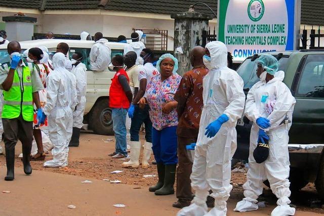 1000 Tote in Sierra Leone nach Erdrutsch befürchtet