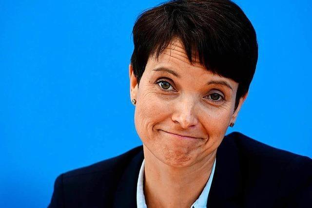 Frauke Petrys Immunität soll aufgehoben werden