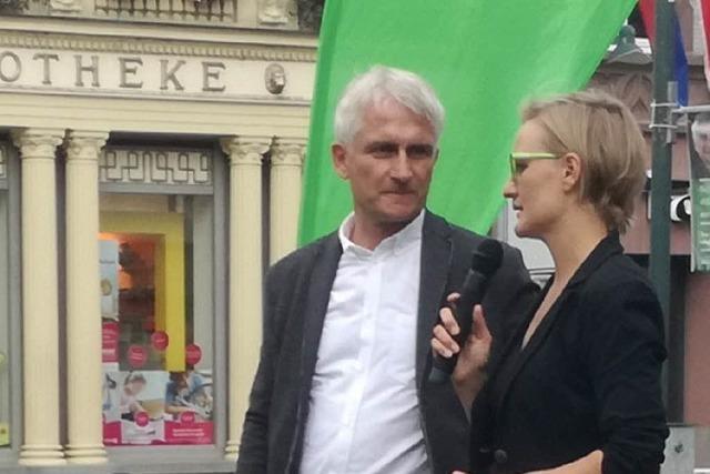 Grüne touren mit Speakers' Corner durch den Wahlkreis Lörrach-Müllheim