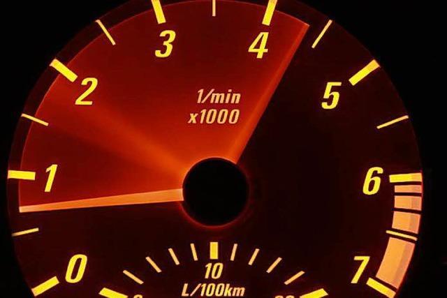 Motorradfahrer im 100er-Bereich mit 193 Stundenkilometern unterwegs