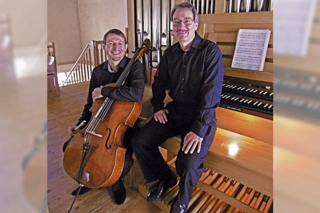 Konzert mit Cello und Orgel