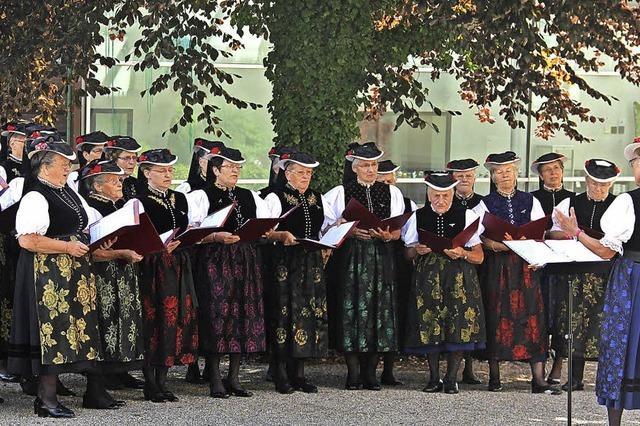 Landfrauenchor in St. Märgen