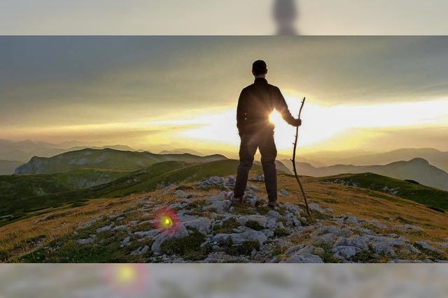 Unterwegs auf einem neuen Fernwanderweg in der Steiermark
