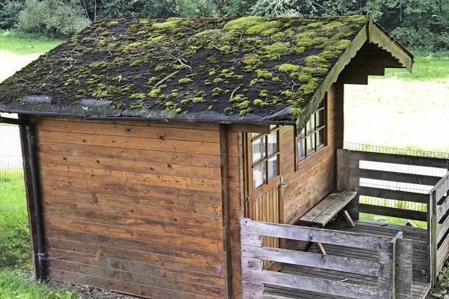 Die zweite Hütte ist's
