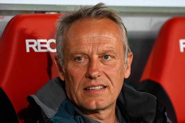 Trainer Christian Streich verlängert beim Sportclub