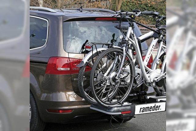 Räder sicher im Fahrzeug