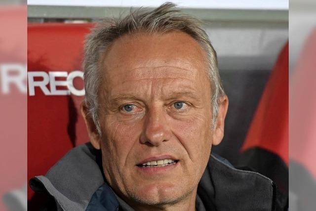 SC verlängert Vertrag mit Trainer Streich