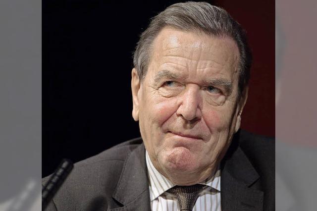 Altkanzler Schröders neuer Job bei Rosneft birgt Diskussionsstoff