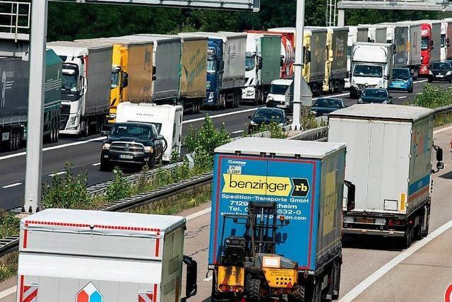 Wirtschaft verlagert den Güterverkehr