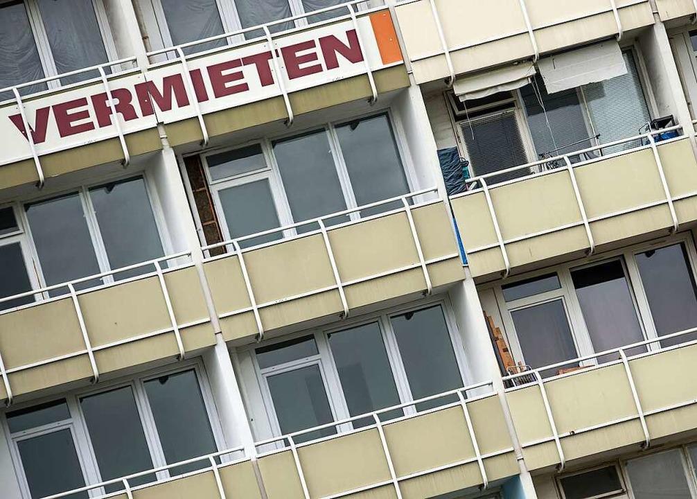 Was hilft gegen den Wohnungsnotstand (Symbolbild)?  | Foto: dpa