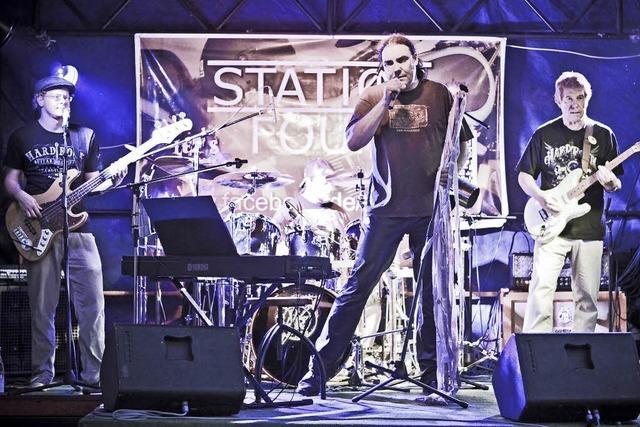 Band Station Four gibt heute, Samstag, Konzert in Rheinfelden-Karsau