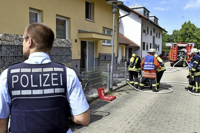 Küchenbrand in Mietersheim