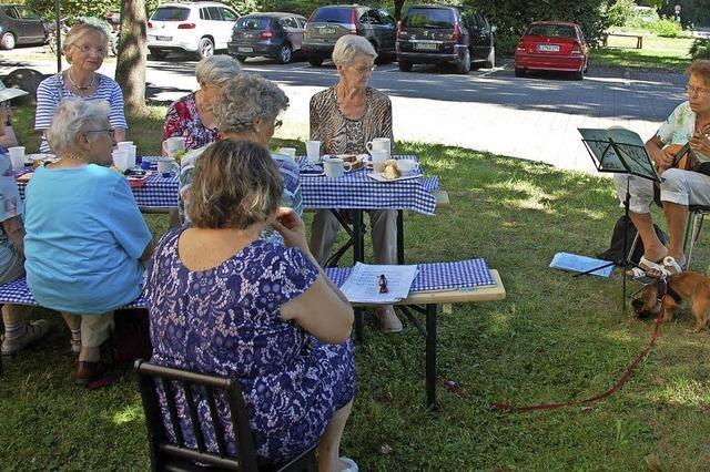 Senioren schätzen Angebote