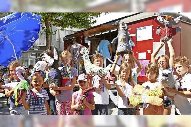 Junge Stadtplaner, Künstler und Köche