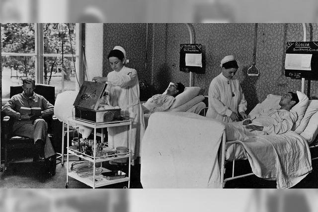Historische Details des Klinikalltags